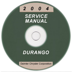 2004 Dodge Durango Service Manual on CD
