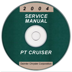 2004 Chrysler PT Cruiser Service Manual- CD Rom