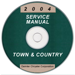 2004 Chrysler Town & Country Service Manual - CD Rom