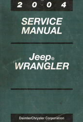 2004 Jeep Wrangler Service Manual