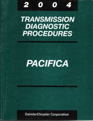 2004 Chrysler Pacifica Factory Transmission Diagnostic Procedures Manual