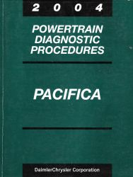 2004 Chrysler Pacifica Factory Powertrain Diagnostic Procedures Manual