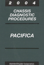 2004 Chrysler Pacifica Chassis Diagnostic Procedures
