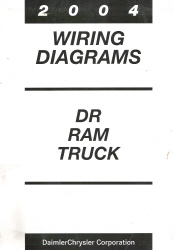 2004 Dodge DR Ram Truck Factory Wiring Diagrams