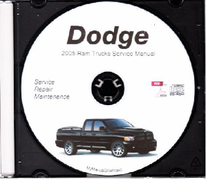 2005 Dodge Ram Truck Service Manual - CD ROM