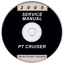 2005 Chrysler PT Cruiser Service Manual- CD Rom