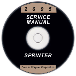 2005 Dodge Sprinter Factory Service Manual on CD