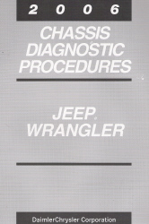 2006 Jeep Wrangler Chassis Diagnostic Procedures