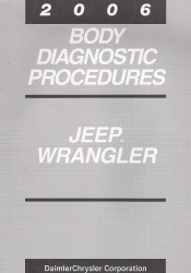 2006 Jeep Wrangler Body Diagnostic Procedures