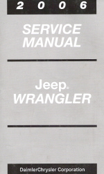 2006 Jeep Wrangler Service Manual