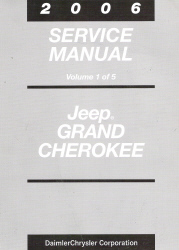 2006 Jeep Grand Cherokee Service Manual - 5 Volume Set