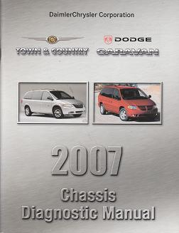 2007 Chrysler Town & Country / Dodge Caravan Chassis Diagnostic Manual