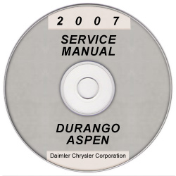2007 Dodge Durango & Chrysler Aspen (HB/HG) Service Manual on CD *XML & SVG*