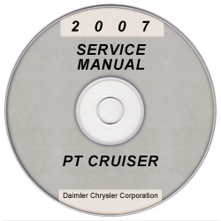2007 Chrysler PT Cruiser Service Manual on CD *XML & SVG*