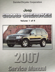 2007 Jeep Grand Cherokee (WK) Service Manual - 4 Volume Set