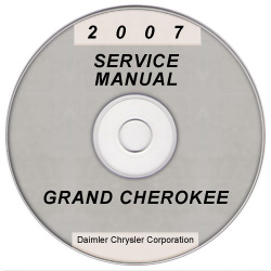 2007 Jeep Grand Cherokee (WK) Service Manual on CD *XML & SVG*