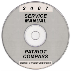 2007 Jeep Patriot and Compass (MK) Service Manual on CD *XML & SVG*