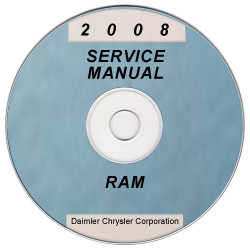 2008 Dodge Ram Truck (D1/DC/DH/DM/DR) Service Manual ON CD