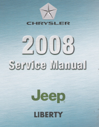 2008 Jeep Liberty (KK) Service Manual - 4 Volume Set