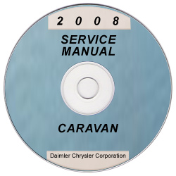 2008 Dodge and Chrysler Caravan and Town & Country (RT) Service Manual ON CD