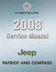 2008 Jeep Compass & Patriot (MK) Service Manual
