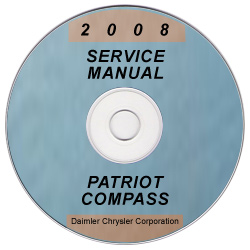 2008 Jeep Compass and Patriot Factory Service Manual on CD