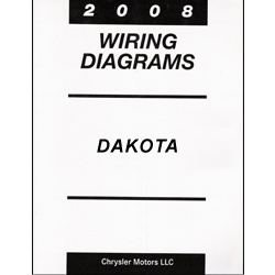 2008 Dodge Dakota (ND) Wiring Manual