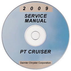 2009 Chrysler PT Cruiser Factory Service Manual on CD
