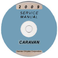 2009 Dodge / Chrysler Caravan and Town & Country Service Manual CD-ROM