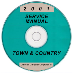 2001 Chrysler Town & Country Service Manual - CD Rom