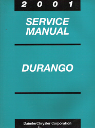 2001 Dodge Durango Service Manual