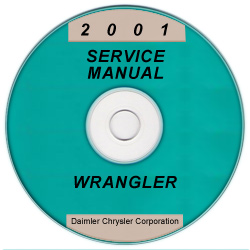 2001 Jeep Wrangler Service Manual - CD Rom