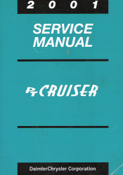 2001 Chrysler PT Cruiser Service Manual