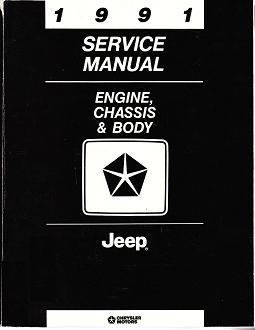 1991 Jeep - All Models, Engine, Chassis & Body  Factory Service Manual