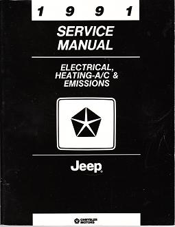 1991 Jeep - All Models, Electrical, Heating-A/C & Emissions Factory Service Manual