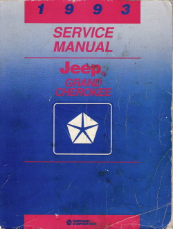 1993 Jeep Grand Cherokee Factory Service Manual