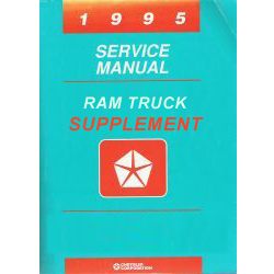 1995 Truck Compessed Natual Gas (CNG) Service Manual Supplement