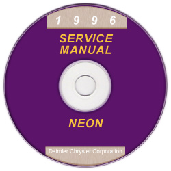 1996 Dodge Neon (PL) Service Manual On CD