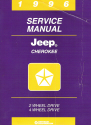 1996 Jeep Cherokee (XJ) Service Manual