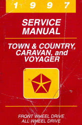 1997 Chrysler Town & Country, Caravan, Grand Caravan, Voyager & Grand Voyager Factory Service Manual
