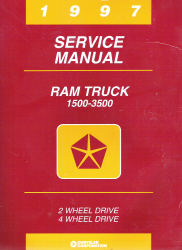 1997 Dodge Ram 1500 - 3500 Truck Factory Service Manual