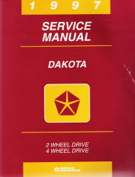 1997 Dodge Dakota Factory Service Manual