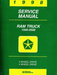 1998 Dodge Ram Truck Factory Service Manual