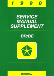 1998 Dodge Ram Truck 1500 - 3500 BR/BE Service Manual Supplement