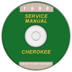 1998 Jeep Cherokee (XJ) Factory Service Manual on CD-ROM