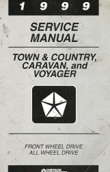 1999 Chrysler Town & Country Service Manual