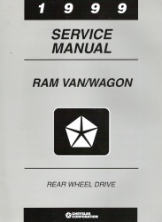 1999 Dodge Ram Van/Wagon (AB) Service Manual