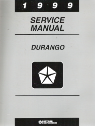 1999 Dodge Durango Service Manual