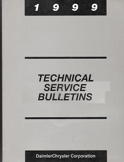 1999 Chrylser Technical Service Bulletins