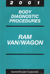 2001 Dodge Ram Van/Wagon Body Diagnostic Procedures